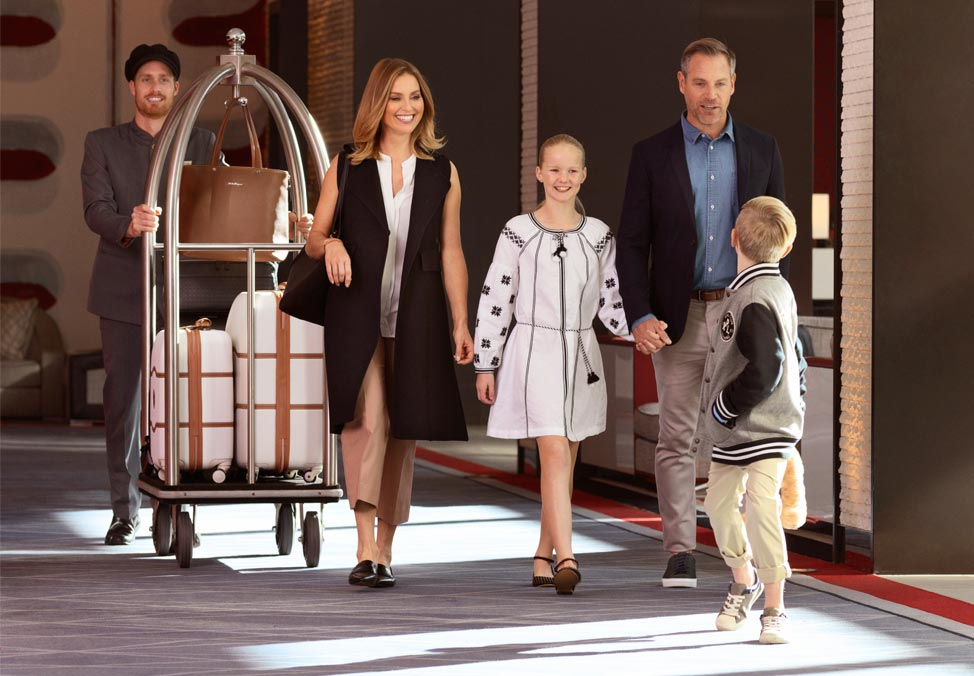 Crown Melbourne Hotels Promenade Summer Packages Family Getaway Quad