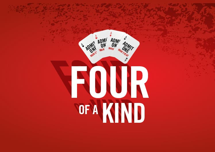 Four of a Kind Crown Poker