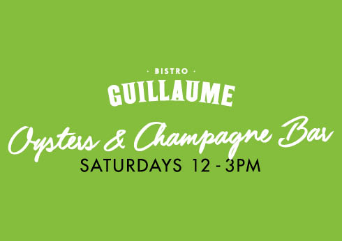 Oyster & Champagne Bar at Bistro Guillaume