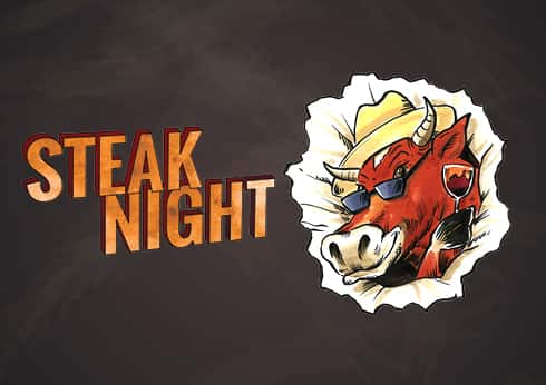 Steak Night at The Pub